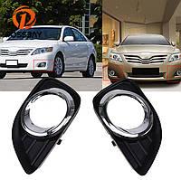 Рамки для ПТФ Toyota Camry 40 2009-2012 г.в. рестайлинг, фото 1