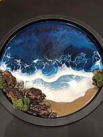 Кофейный столик-море
