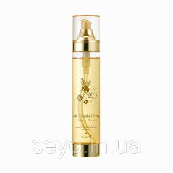 Сыворотка с экстрактом меда канола The Yeon Jeju Canola Honey Essential Serum, 200 мл