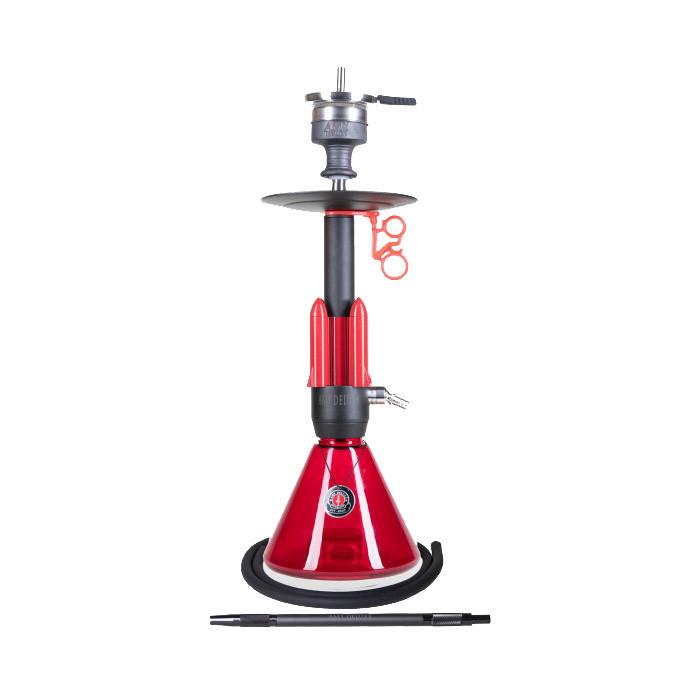 Кальян AMY Deluxe 067.02 Little Rocket высота 56 см красный