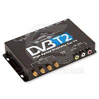 Автомобильный цифровой тюнер DVB-T2 с 4 антеннами