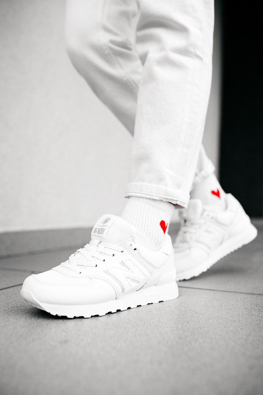 Кроссовки мужские New Balance 574 White