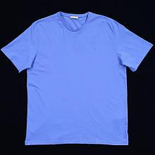 Футболка чоловіча Tony Montana PL-3160 MAVI 97% бавовна 3% еластан 5XL(Р)