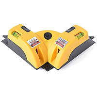 Лазерный уровень-нивелир Adenki LV-01 с функцией самовыравнивания Желтый 46-891711999, КОД: 1379834