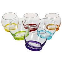 Набор стаканов для сока 6 предметов Crazy 390 Bohemia 25250 D4718 390