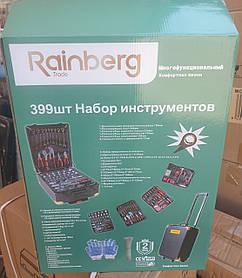 Набор инструментов Rainberg Trade 399 шт. в чемодане (кейс)