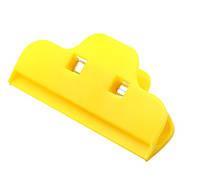 Широкий зажим для ремонта дисплеев Желтый