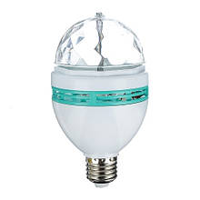 Вращающаяся лампочка 3W Белый