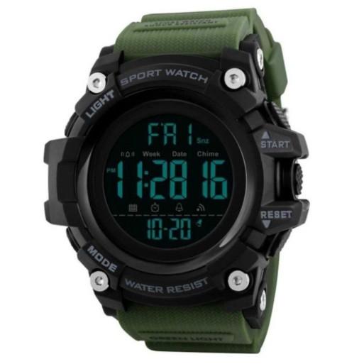 Спортивные часы Skmei 1384 Зеленый+Черный