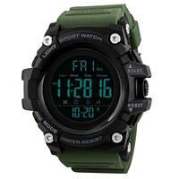 Спортивные часы Skmei 1384 Зеленый+Черный, фото 1