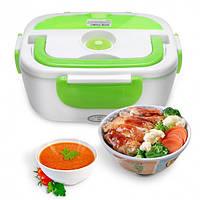 Ланч-бокс The Electric Lunch Box с подогревом Green #D/S
