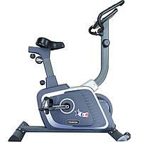 Велотренажер для дома магнитный вертикальный до 120 кг USA Style EV-0303 серый