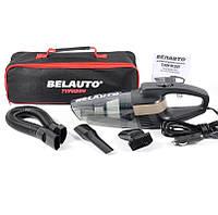 Автомобильный пылесос BELAUTO Тайфун BA-55B Черный с LED фонарем