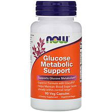"""Комплекс для поддержания метаболизма глюкозы NOW Foods """"Glucose Metabolic Support"""" (90 капсул)"""