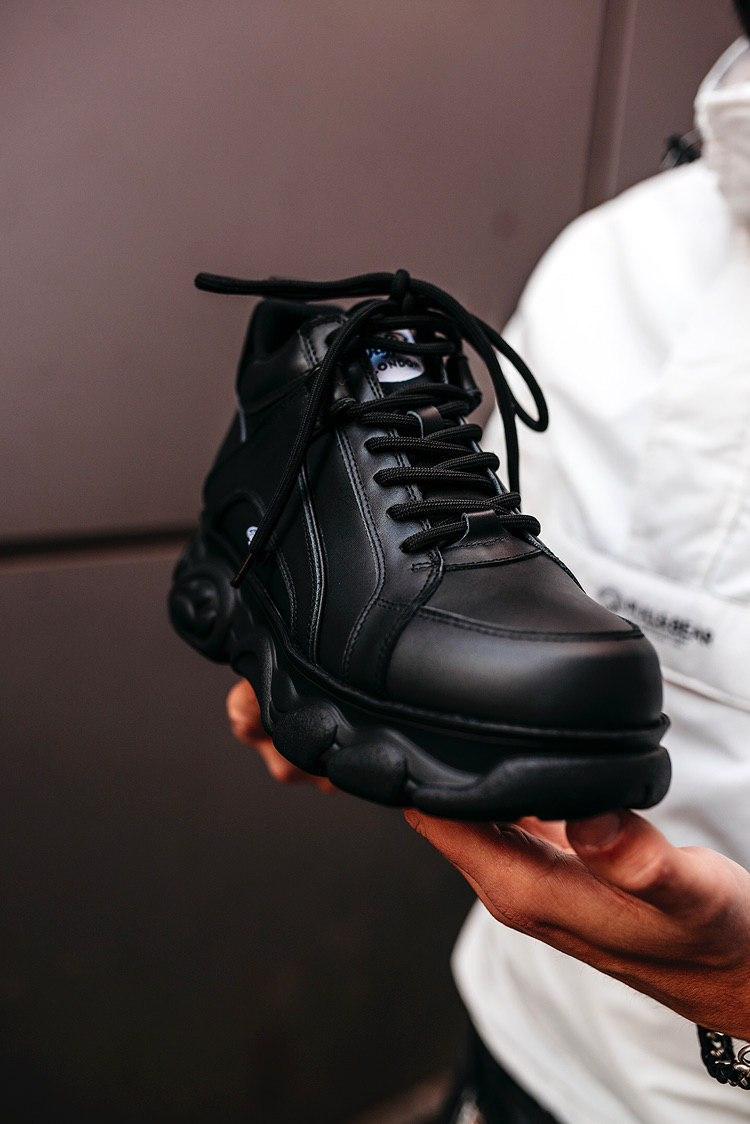 Кросівки чоловічі Buffalo London black