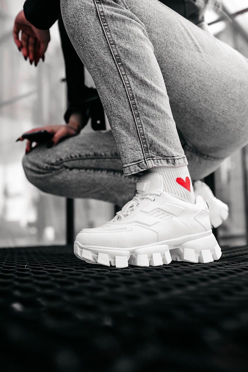 Кроссовки мужские Prada Cloudbust White