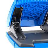 Дырокол Axent Shell 3430-07-A с пластиковым верхом, 30 листов, голубой, фото 3