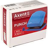 Дырокол Axent Shell 3430-07-A с пластиковым верхом, 30 листов, голубой, фото 5
