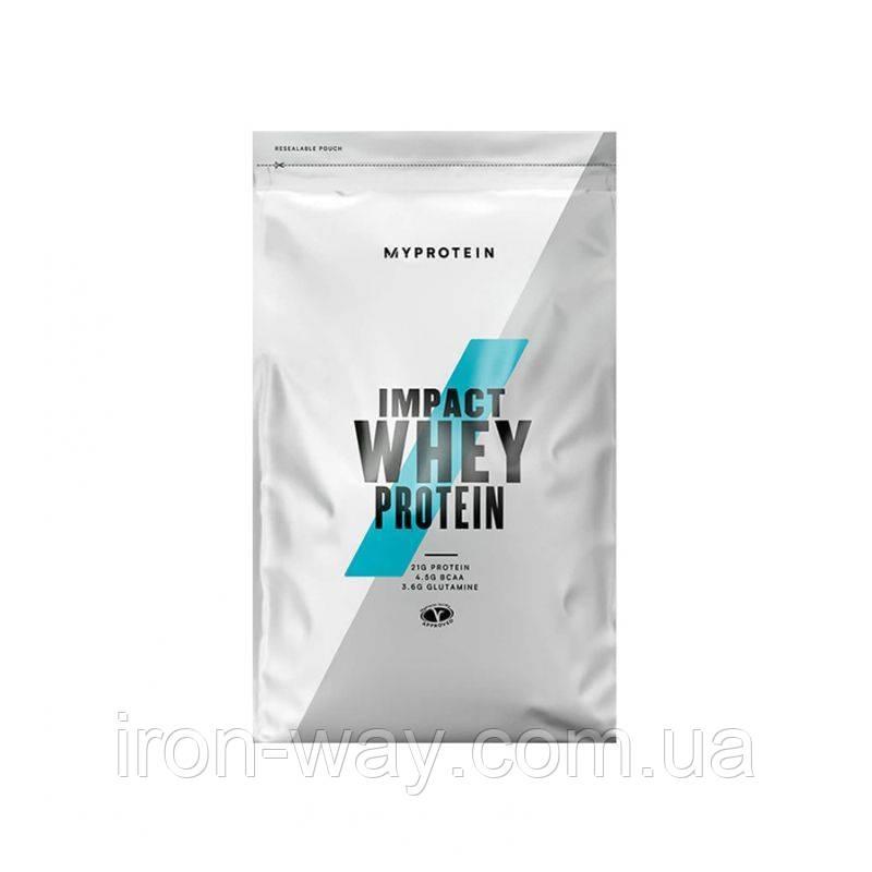 MyProtein Impact Whey Protein 1 kg Шоколад арахисовая паста