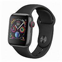 Умные часы Smart Watch W4 (черный)