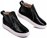 Ботинки демисезонные маленького размера 32,33,34,35 из натуральной кожи от производителя модель МАК1202М, фото 3