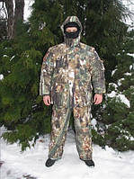 Зимний камуфляжный костюм для рыбалки и охоты
