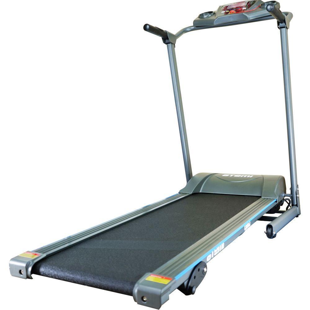Бігова доріжка для дому електрична до 100 кг USA Style Atemi SS-GB-6290 сірий