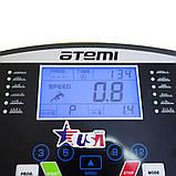 Бігова доріжка для дому електрична до 100 кг USA Style Atemi SS-GB-6290 сірий, фото 6