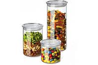 Набор емкостей для хранения продуктов 3 шт Simax s185