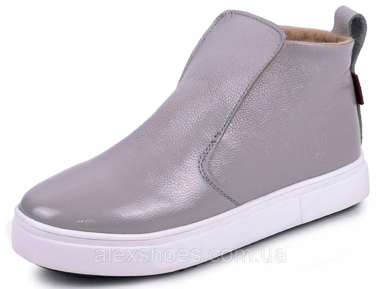Ботинки демисезонные маленького размера 32,33,34,35 из натуральной кожи от производителя модель МАК1212М