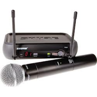 Радио-микрофон PGX4-SHURE ручной (Один ручной радио микрофон на одной базе )