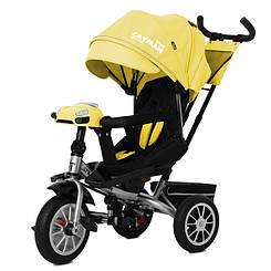 Велосипед трехколесный TILLY Cayman с пультом T-381/3 Yellow