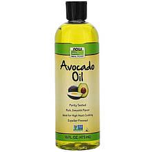 "Масло авокадо NOW Foods, Real Food ""Avocado Oil"" рафинированное (500 мл)"