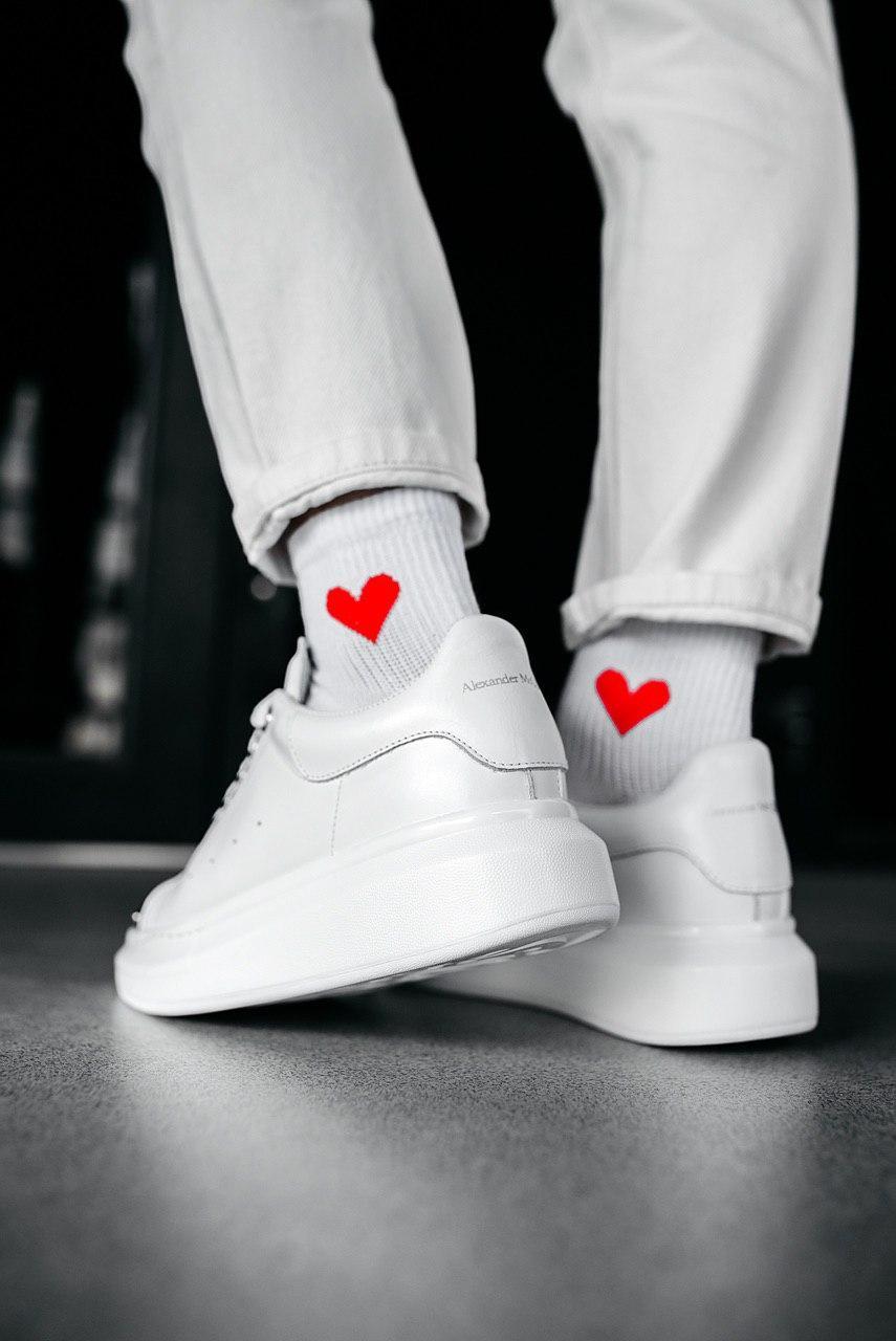 Кроссовки мужские Alexander McQueen Wmns Oversized Sneaker White