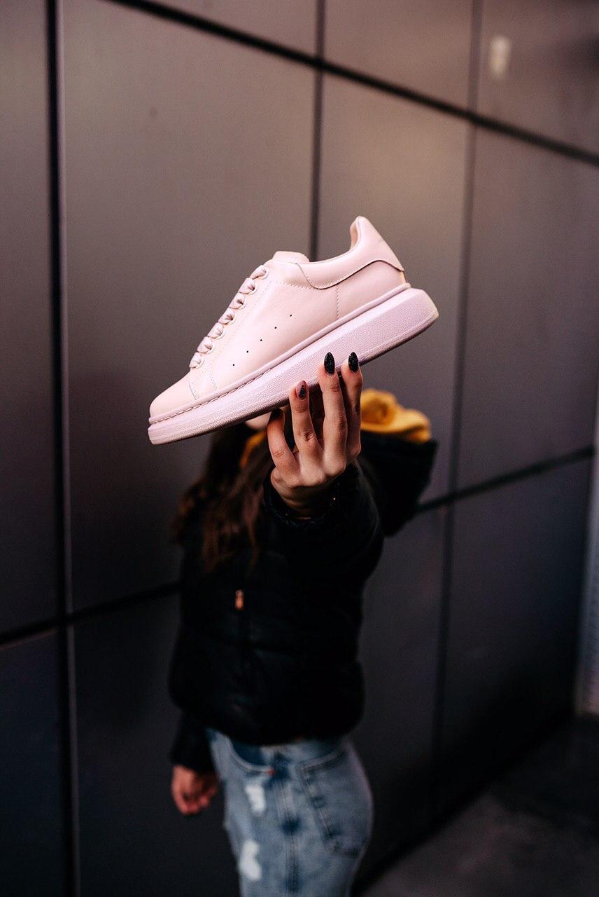 Кроссовки мужские Alexander McQueen Wmns Larry Oversized Sneaker Pink