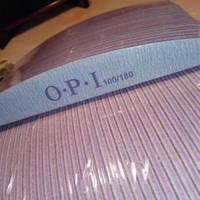 Пилочка для ногтей OPI 100/180 лодочка