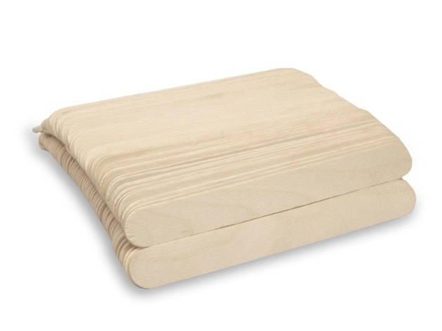 Шпатель деревянный AXCES 100 шт., фото 2