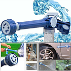 Насадка на шланг с распылителем моющих средств для мытья машины Ez Jet Water Cannon, фото 2
