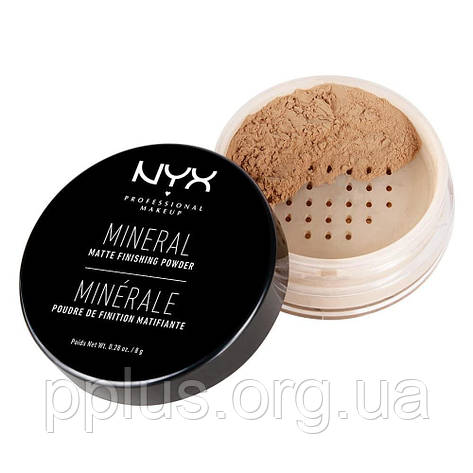 NYX Пудра Минеральная Финиш №02 (Medium) 8 г, фото 2