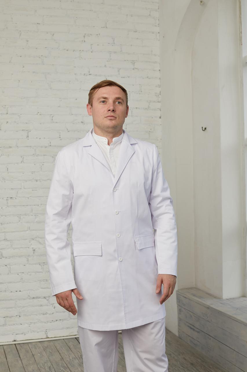 Мужской медицинский халат Виктор - Чоловічий медичний халат Віктор