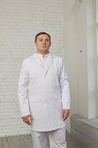 Мужской медицинский халат Виктор - Чоловічий медичний халат Віктор, фото 2