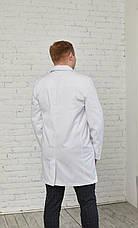 Мужской медицинский халат Виктор - Чоловічий медичний халат Віктор, фото 3