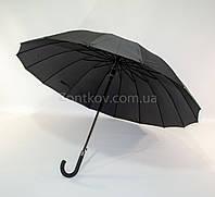 Президентский зонт-трость Mario c диаметром купола 120 см. на 16 спиц