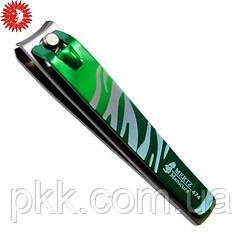 Книпсер для ногтей MЕRTZ с цветной ручкой матированный 8 см