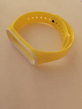 Ремешок Xiaomi Mi Band 3/4 Yellow-white