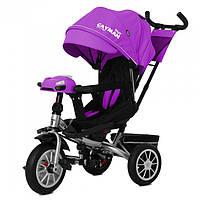 Велосипед трехколесный TILLY Cayman с пультом T-381/3 Purple