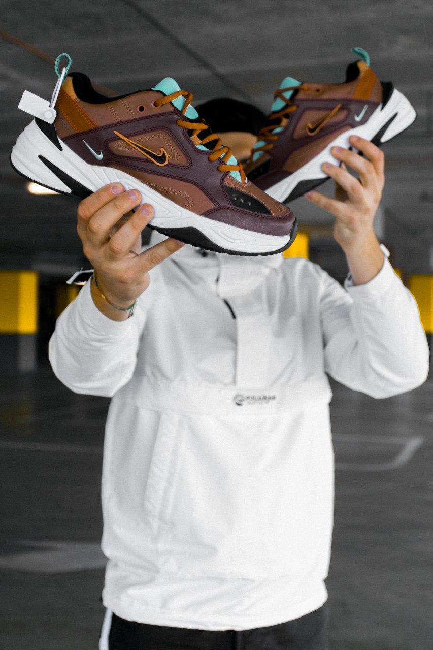 Кроссовки женские Nike M2K Tekno Mahogany Mink (W)