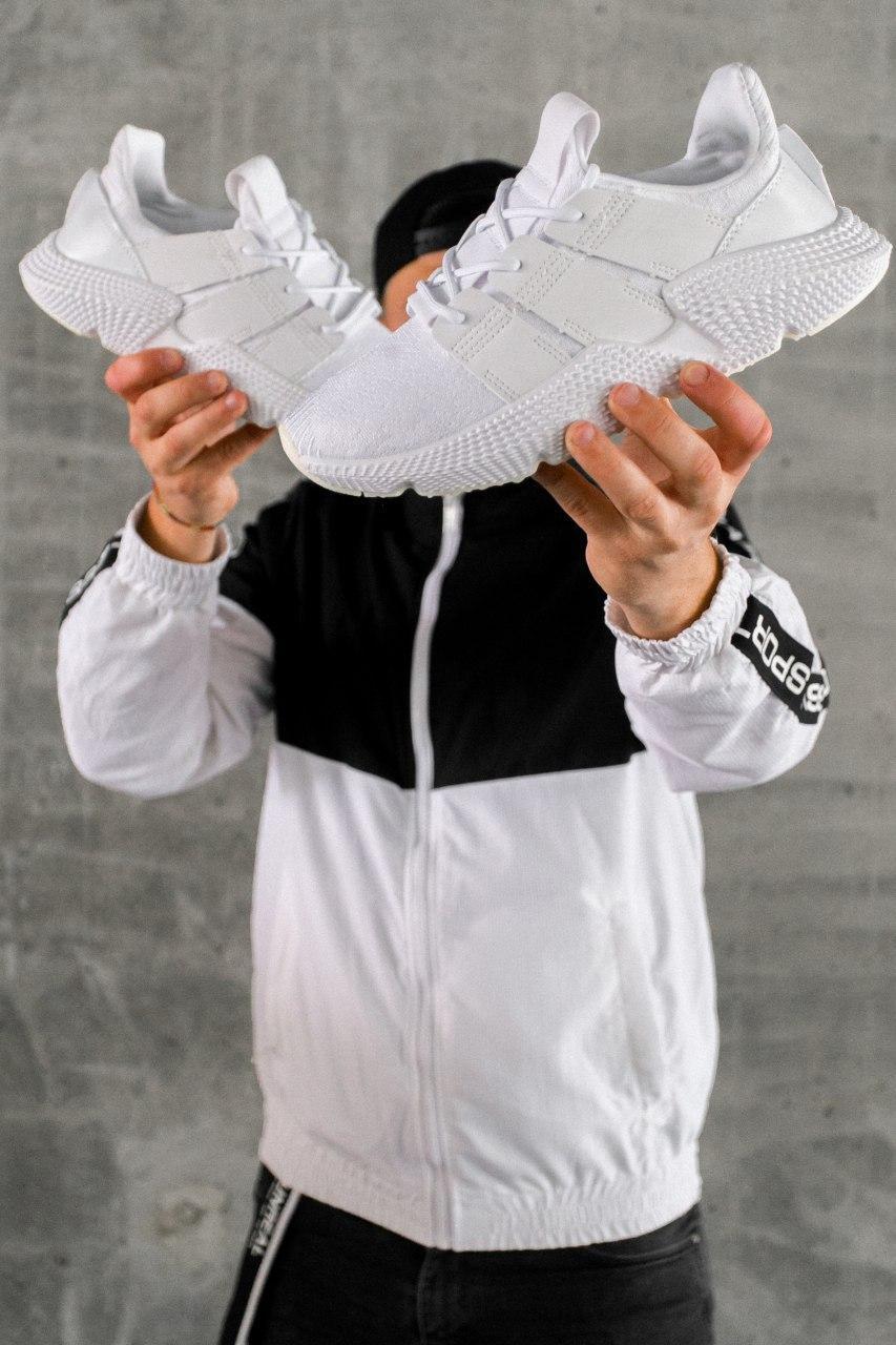 Кроссовки женские Adidas Prophere Triple White (W)