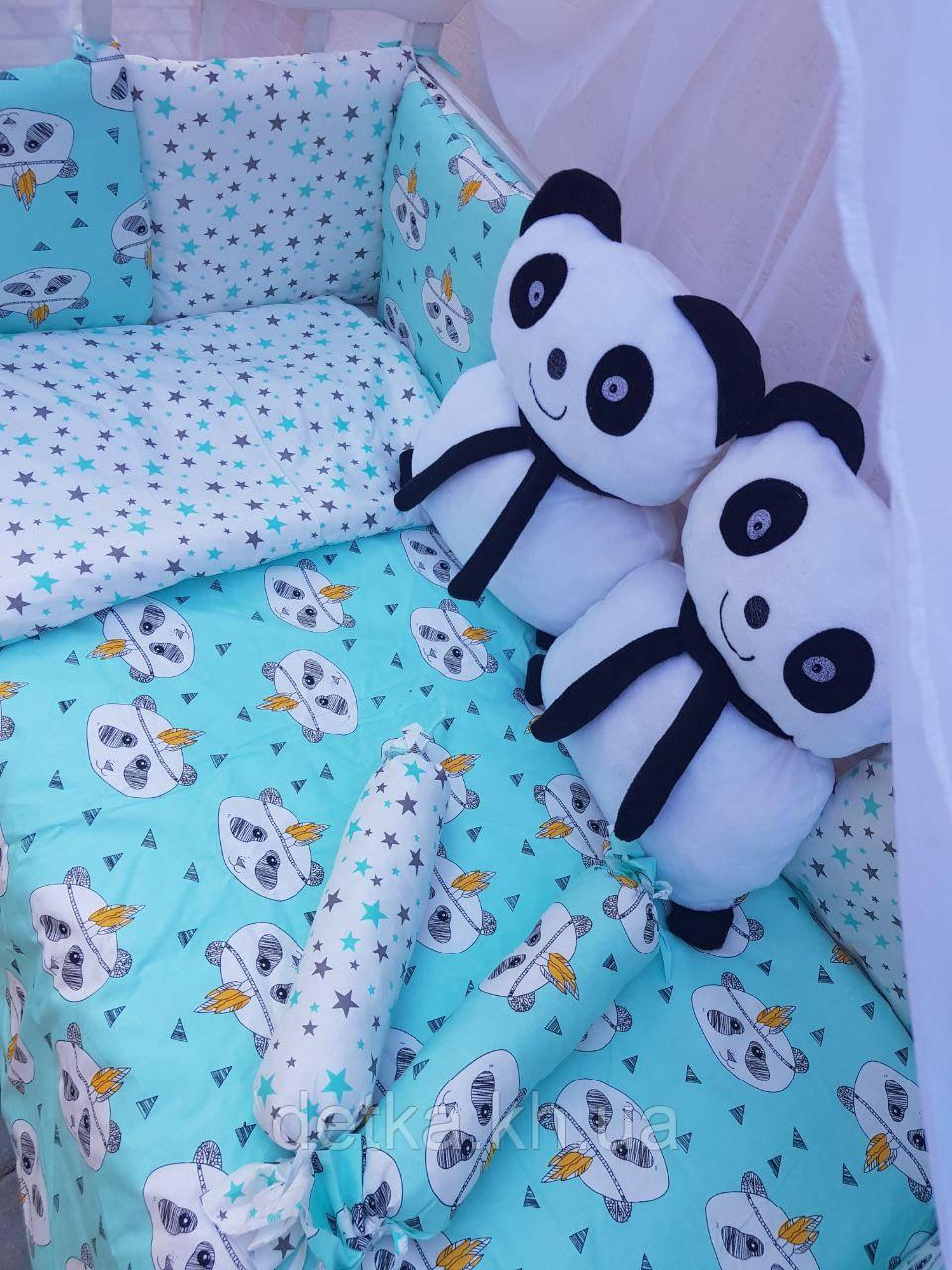 "Комплект ""Панди"" в дитяче ліжечко"