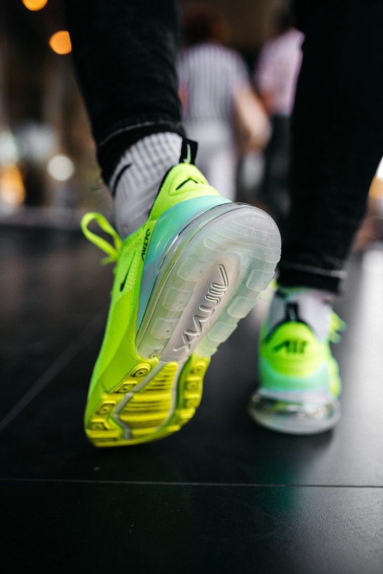 Кроссовки женские Nike Air Max 270 Green
